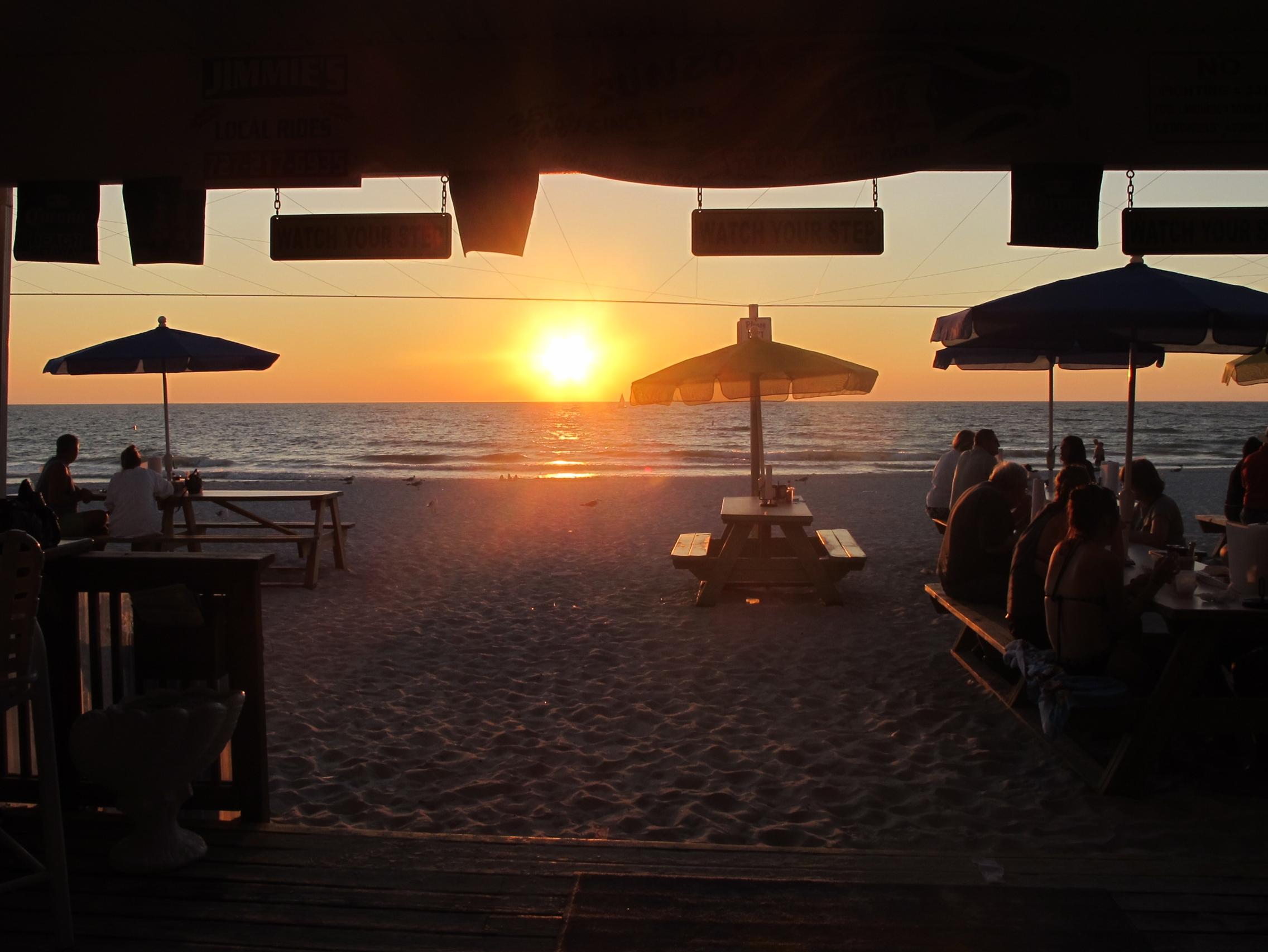 Treasure Island Florida Treasure Island Restaurants Sunset